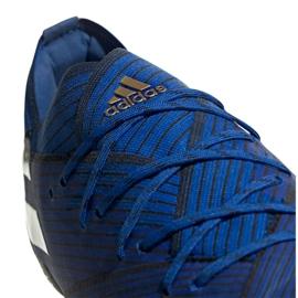Chuteiras de futebol adidas Nemeziz 19.1 Fg M F34410 azul azul 1