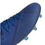 Chuteiras de futebol adidas Nemeziz 19.1 Fg M F34410 azul azul 3
