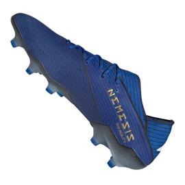 Chuteiras de futebol adidas Nemeziz 19.1 Fg M F34410 azul azul 4