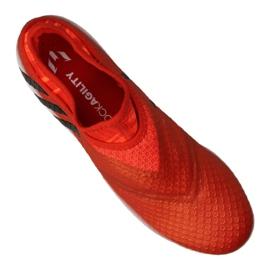 Sapatos de futebol adidas Messi 16+ Pureagility Fg M BB1870 vermelho vermelho 3