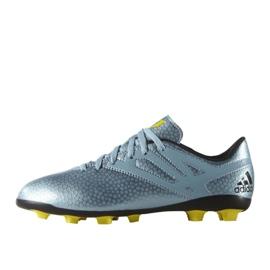 Sapatos de futebol adidas Messi 15.4 FxG Jr B26956 azul azul 1