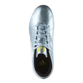Sapatos de futebol adidas Messi 15.4 FxG Jr B26956 azul azul 2