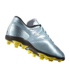 Sapatos de futebol adidas Messi 15.4 FxG Jr B26956 azul azul 5