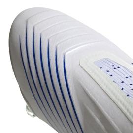 Chuteiras de futebol adidas Predator 19+ Fg M BC0548 branco branco 4