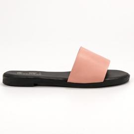 Clowse Chinelos de Pó Clássicos rosa 3