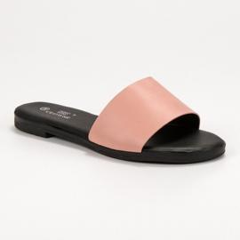 Clowse Chinelos de Pó Clássicos rosa 4
