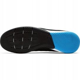 Sapatos de interior Nike Tiempo Reagir Legend 8 Pro Ic M AT6134 004 preto cinza