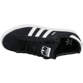 Sapatos Adidas Originals Campus Jr BY9580 preto 2