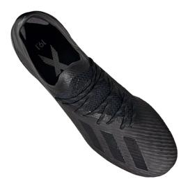 Sapatos de futebol adidas X 19.1 Fg M F35314 preto preto 3