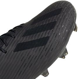 Sapatos de futebol adidas X 19.1 Fg M F35314 preto preto 5