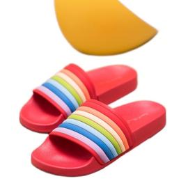 Sweet Shoes Chinelos de borracha coloridos vermelho multicolorido 5