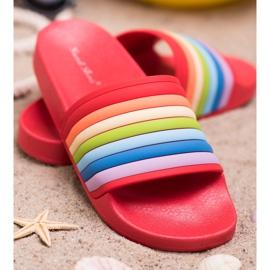 Sweet Shoes Chinelos de borracha coloridos vermelho multicolorido 2