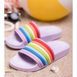 Sweet Shoes Chinelos de borracha coloridos tolet multicolorido 1