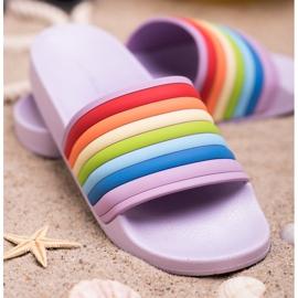 Sweet Shoes Chinelos de borracha coloridos tolet multicolorido 3