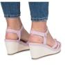 Sandálias de cunha roxa Glavel roxo 1