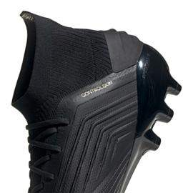 Chuteiras de futebol adidas Predator 19.1 Ag M EF8982 preto preto 1