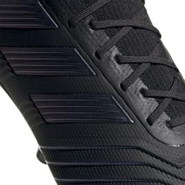 Chuteiras de futebol adidas Predator 19.1 Ag M EF8982 preto preto 2