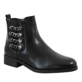 Kayla Shoes Botas isoladas pretas 8961 preto 1