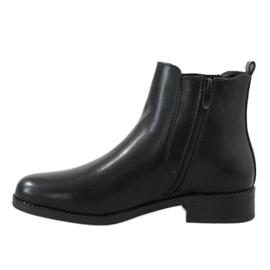 Kayla Shoes Botas isoladas pretas 8961 preto 2