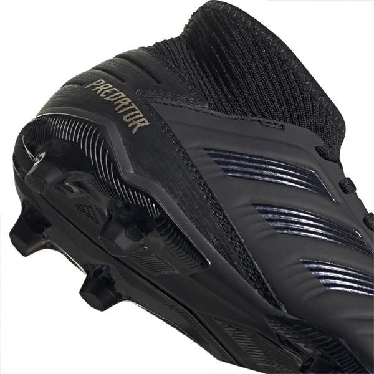 Adidas Predator 19.3 Fg Sapatos De Futebol Jr G25796 Preto