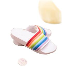 Sweet Shoes Chinelos de borracha coloridos branco multicolorido 4