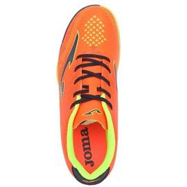 Botas de futebol Joma Champion 908 Tf JR CHAJW.908.TF preto, multicolorido laranja 3
