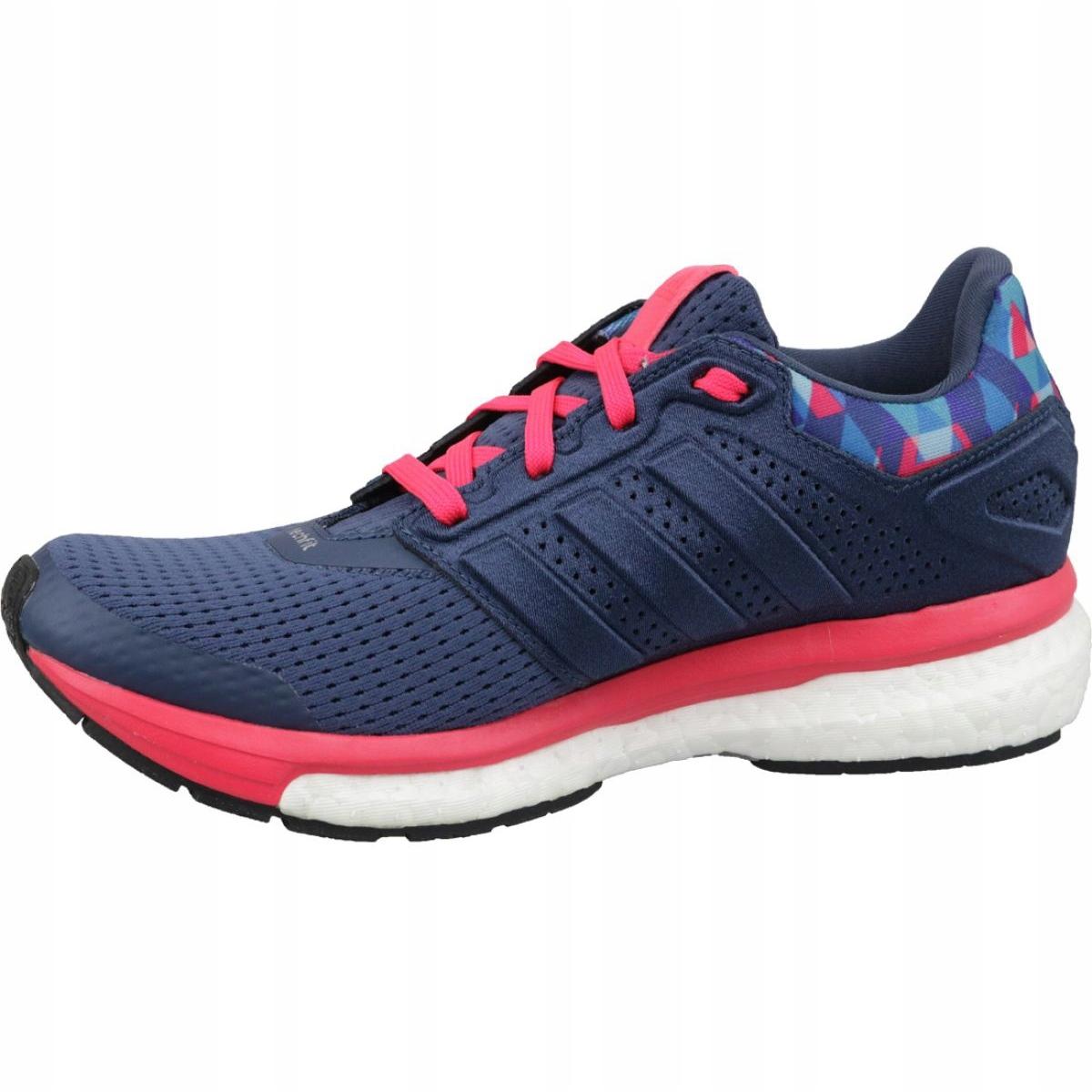 Sapatos Adidas Supernova Glide 8 Gfx W AQ5059 marinha