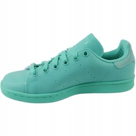 Sapatos Adidas Stan Smith Adicolor W S80250 azul 1