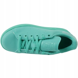 Sapatos Adidas Stan Smith Adicolor W S80250 azul 2
