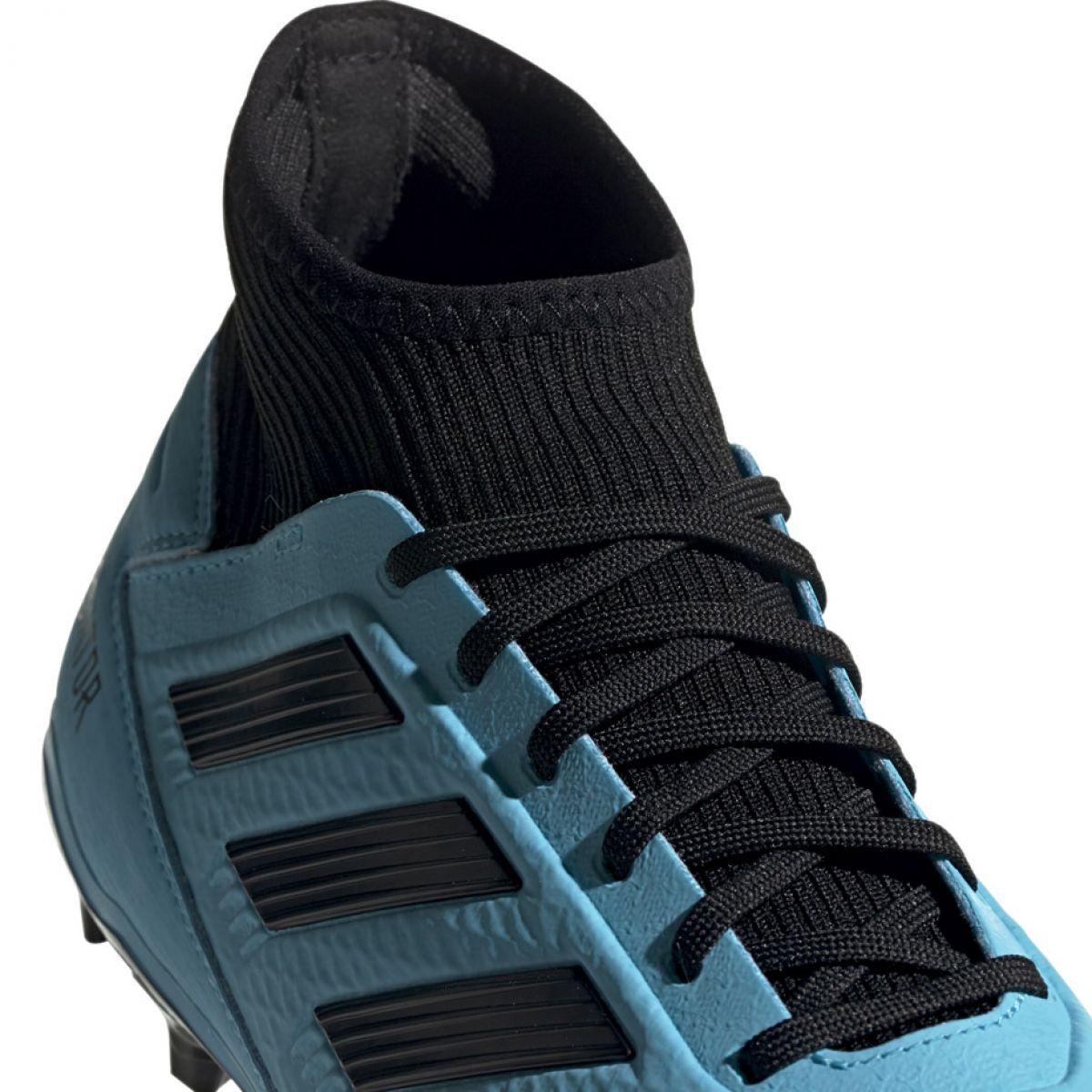 Chuteiras de futebol adidas Predator 19.3 Fg M F35593 blue azul azul