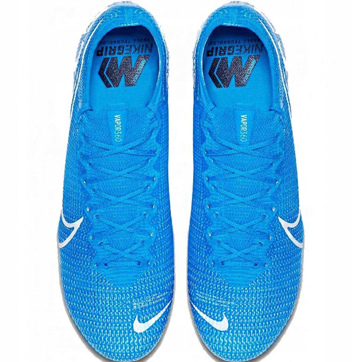 Nike Mercurial Vapor 13 botas de futebol Elite SG Pro Ac M AT7899 414 azul