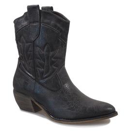 Botas de cowgirl cinza 10601-1 1