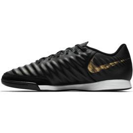 Sapatos de interior Nike Tiempo Legend 7 Academia Ic M AH7244-077 preto preto 1