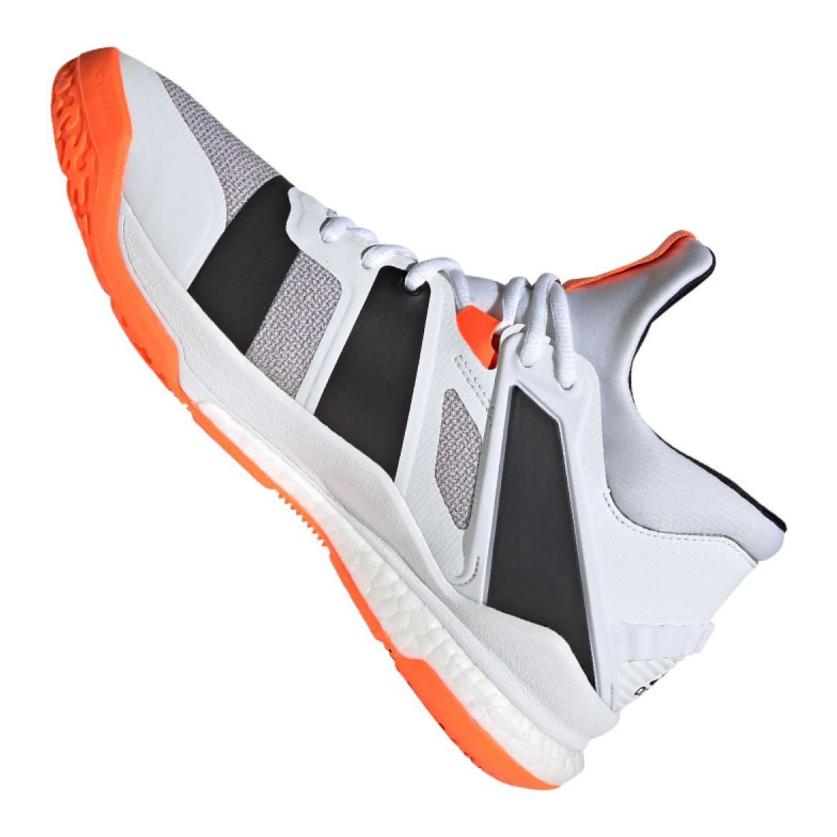 Sapatos Adidas Stabil X Mid M F33827 branco branco