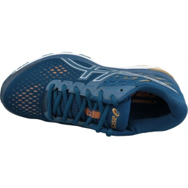 Tênis de corrida Asics Gel-Cumulus 21 M 1011A551-400 azul 2