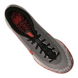 Sapatos de interior Nike Jr Vapor 12 Academia Gs Njr Ic Jr AO9474-170 cinza cinza / prata 3