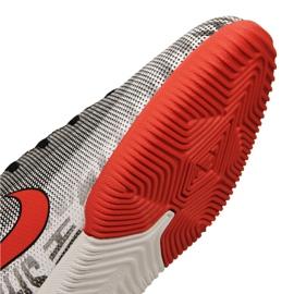 Sapatos de interior Nike Jr Vapor 12 Academia Gs Njr Ic Jr AO9474-170 cinza cinza / prata 5