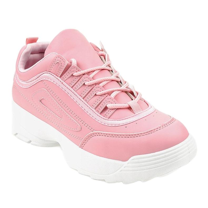 Sapatilhas de calçado desportivo rosa GL808 de rosa