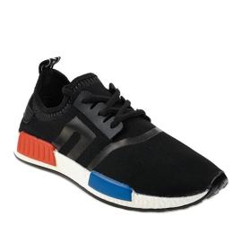 Calçado desportivo preto MD01A-1 1