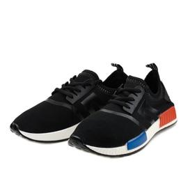 Calçado desportivo preto MD01A-1 3