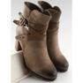Botas de tornozelo marrom 8287 cáqui 3