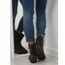 Sapatos femininos cinza 7378-PA Cinza retrato 2