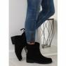 Sapatos femininos pretos 7378-PA Preto retrato 1