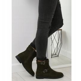 Sapatos Flat Verde MB188-266 Verde 1