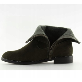 Sapatos Flat Verde MB188-266 Verde 2