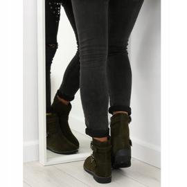 Sapatos Flat Verde MB188-266 Verde 3