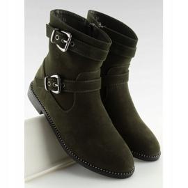 Sapatos Flat Verde MB188-266 Verde 4