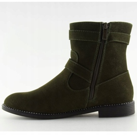 Sapatos Flat Verde MB188-266 Verde 5