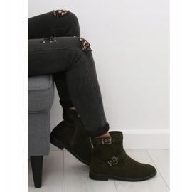 Sapatos Flat Verde MB188-266 Verde 7