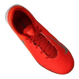 Sapatilhas Nike Phantom Vsn Academia Ic Jr AR4345-600 vermelho laranja 3